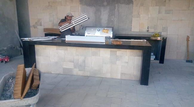 Barra de Granito para Cocineta Exterior