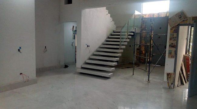 Pisos y Escaleras de Mármol