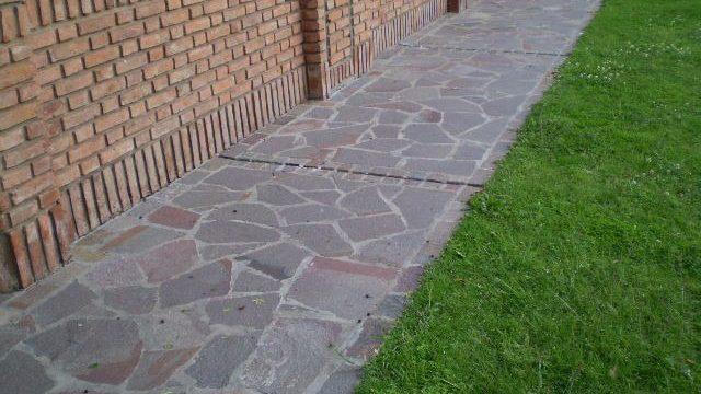 Instalación de Piedra para Piso Exterior